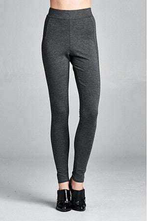 Charcoal High Waist Legging