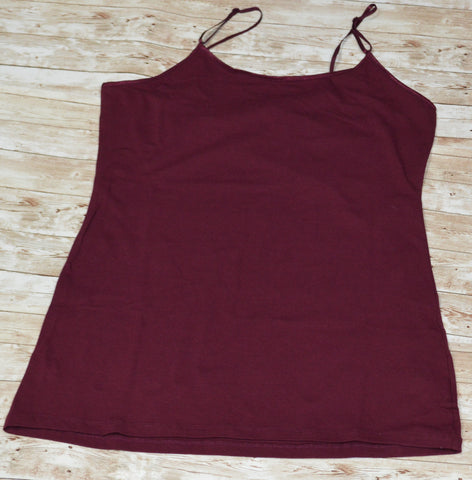 Burgundy Plus Cami