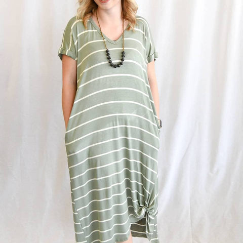 Kasey Oversize Midi Dress