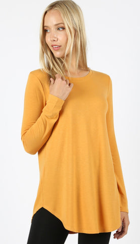 Long Sleeve Essential Layering Tee