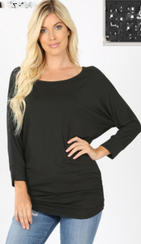 Dolman Sleeve Top 2