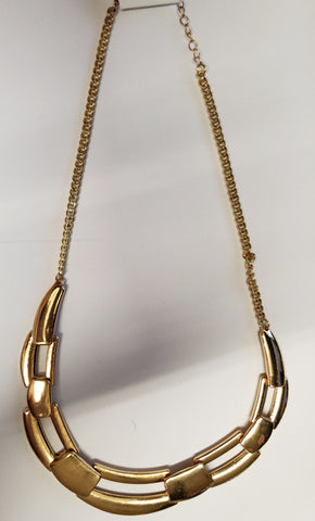 Large  Link Gold Necklace