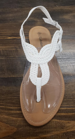 Braided Adjustable Strap Sandal