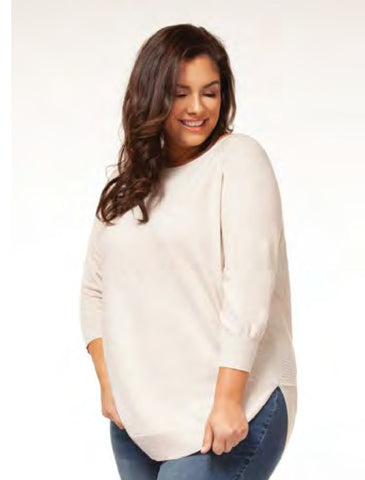 Circle Hem Sweater
