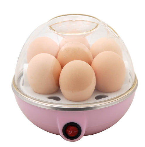 Compact Stylish Electric Egg Cooker (Multicolour)