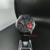 alfa romeo qv 3D wheel watch wristwatch orologio