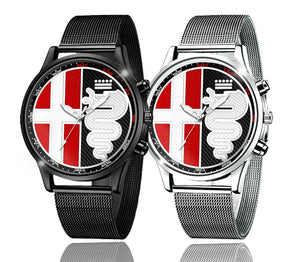 Alfa Romeo Multiple Colors Logo Kingdom watch (4 logo variants)