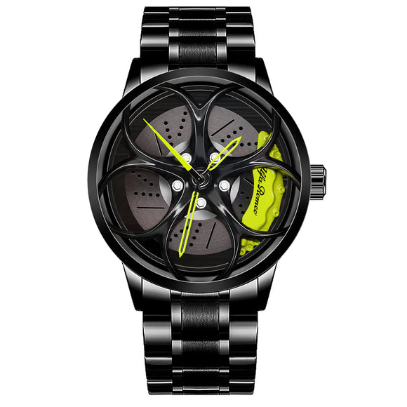 3D Alfa Romeo Giulia QV Wheel Watch