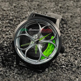 alfa romeo giulia stelvio mito giulietta 159 8c 4c brera accessories watch wristwatch orologio green calipers