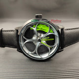 alfa romeo qv quadrifoglio verde 3d leather wheel watch green calipers f1 giulia giulietta gtv gta gt