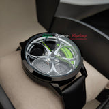 alfa romeo giulia giulietta gtv gta gtam gt qv quadrifoglio verde 3D wheel watch green calipers leather
