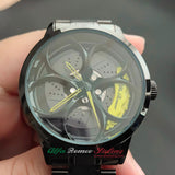 alfa romeo veloce v6 busso volante qv wheels wheel watch classic wristwatch orologio yellow calipers