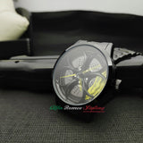 alfa romeo zagato sz tz3 zx junior z1 f1 racing wheel watch yellow calipers for sale