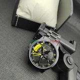 alfa romeo qv quadrifoglio verde gta gtam wheel watch yellow calipers brembo disc parts racing