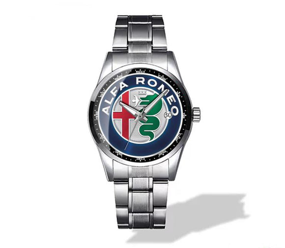 Alfa Romeo New Logo Diamond Watch
