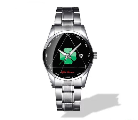Alfa Romeo Quadrifoglio Verde QV Diamond Watch