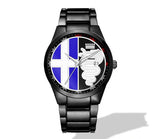 Alfa Romeo Multiple Color Logo Nero Corse Watch (4 logo colors)