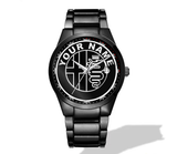Alfa Romeo Logo Nero Corse Watch - PERSONALIZED (3 logo variants)