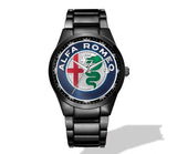 Alfa Romeo New Logo Nero Corse Watch