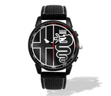Alfa Romeo Black Logo Silicone band watch (3 logo variants)