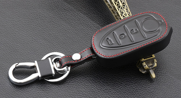 Alfa Romeo Giulietta/MiTo Leather Key Cover / Holder