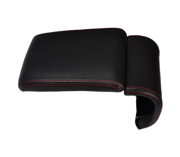 Armrest leather red stitching cover for alfa romeo Giulietta