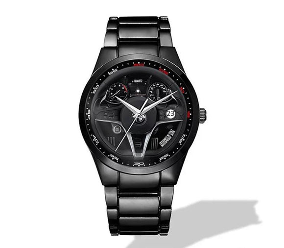 Alfa Romeo Giulia Steering Wheel Nero Corse Watch
