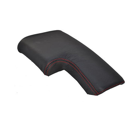 Give your Alfa Romeo Brera interior premium look with high red stitched high quality leather cover for your armrest.   Product specification: Material: genuine leather    Easy instalation      Package includes:    Armrest genuine leather cover