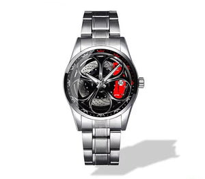 Alfa Romeo Giulia QV Wheel Diamond Watch (5 caliper colors)