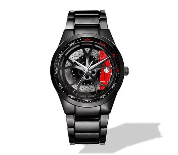 Alfa Romeo Giulia QV Wheel Nero Corse Watch (5 caliper colors)