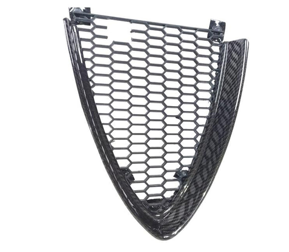 Giulia style carbon fiber fibre grill for the Alfa romeo 159 oem scudetto mask