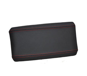 Armrest leather red stitching cover for alfa romeo GT