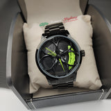 alfa romeo junior kimi raikkonen qv quadrifoglio verde f1 wheel watch orologio wristwatch