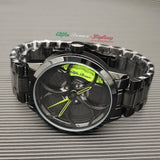 alfa romeo veloce v6 busso volante qv wheels wheel watch classic wristwatch orologio green calipers
