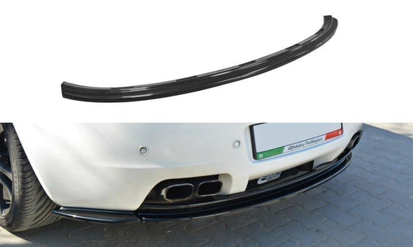 Alfa Romeo BRERA CENTRAL REAR SPLITTER (without vertical bars)