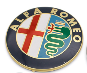 Improve looks of your Alfa Romeo with new high quality Emblem/Logo! 100% Genuine look. Very easy instalation. Supported by variety of Alfa Romeo models. Avaiable in 4 variants. Package includes 2 emblems/logos.  Product specifications:  74mm  Self adhesive  Very easy instalation  Material Type: stainless steel  Package Includes:   2pcs 74mm aluminium sticker  Fitment:  Giulietta, Spider, Brera, 159, Mito, 147, 156, 166, GTV, 4C, and other models with 74mm diameter