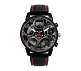 Alfa Romeo 4C Wheel Red Calipers Silicone band watch