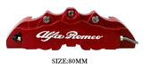 Alfa Romeo Brake Caliper Decal High Temp Resistant 4x80mm