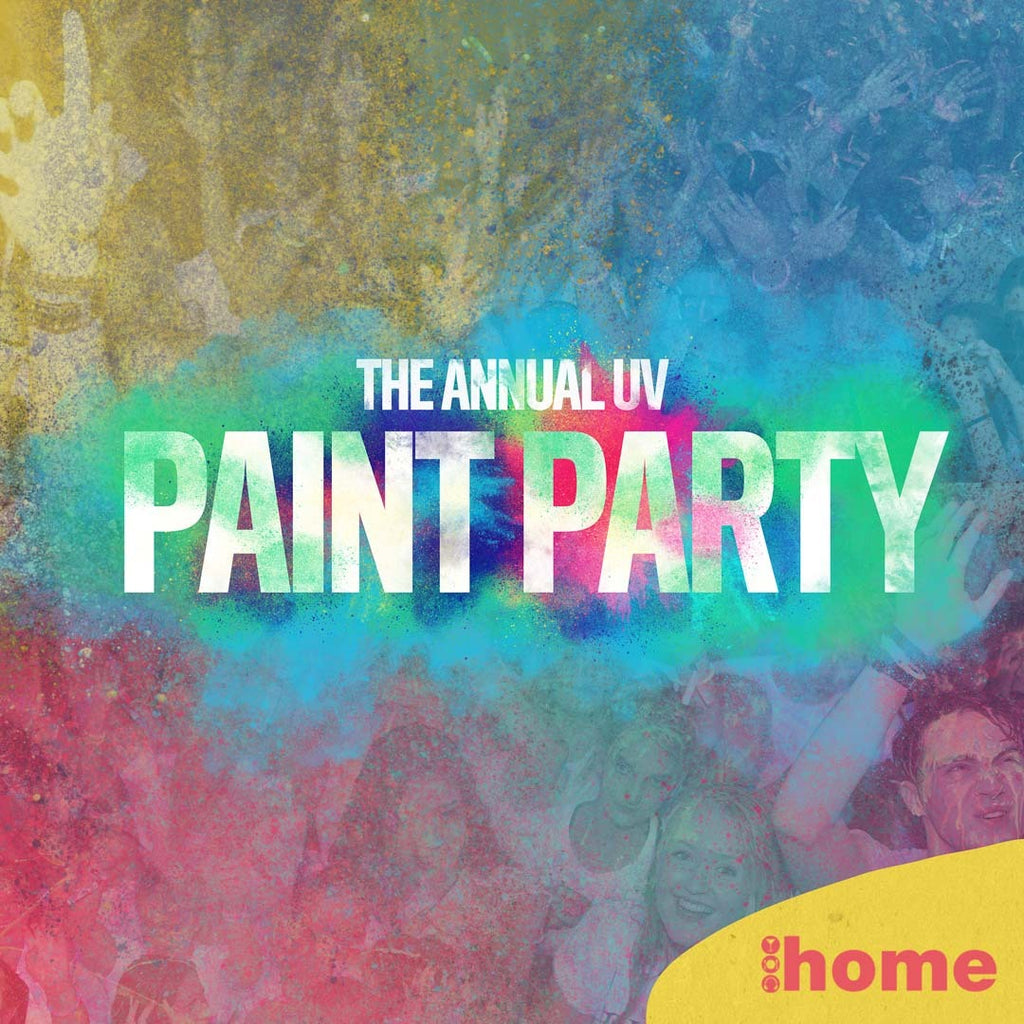 The Annual UV Paint Party @ Home