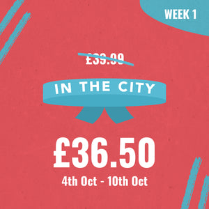 "LINCOLN FRESHERS ""IN THE CITY WRISTBAND"" - WEEK ONE"