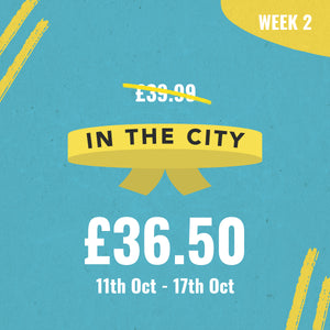"LINCOLN FRESHERS ""IN THE CITY WRISTBAND"" - WEEK TWO"