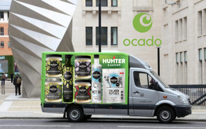 Ocado van on road