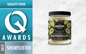 Shortlisted award mayonnaise jar