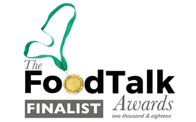 We're FINALISTS in The Food Talk Awards 2018
