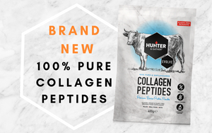 Plastic Free: Hunter & Gather Launch First 100% Pure Collagen In Fully Recyclable Packaging