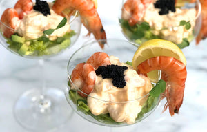 A Retro Christmas Starter Made Healthy: Prawn Cocktail