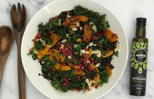 Warm Roasted Kale & Butternut Crunch Salad