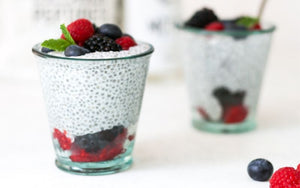 Triple Berry Chia MCT Oil & Collagen Pudding Recipe