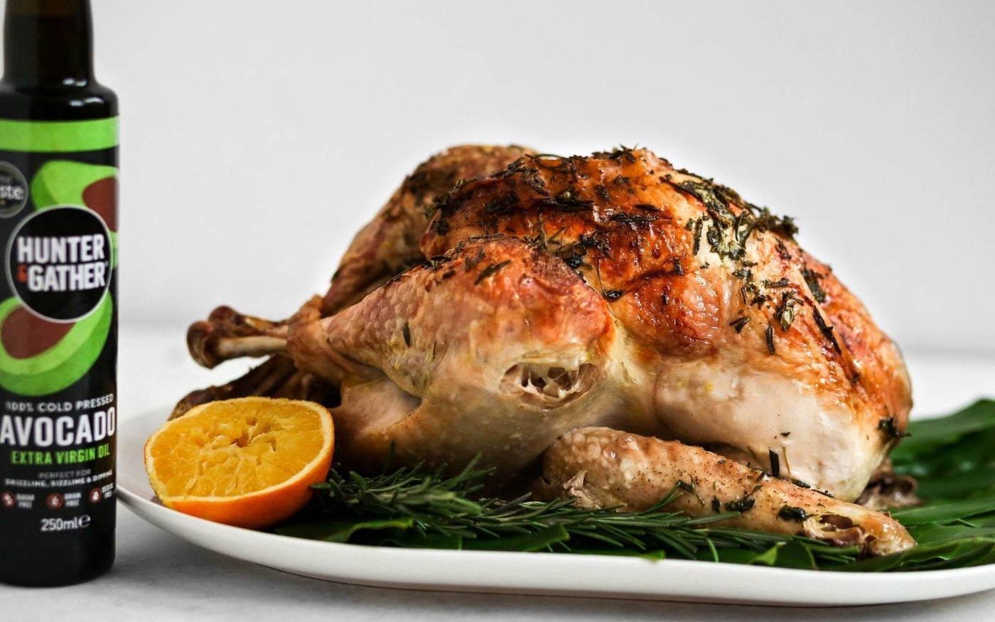 Herb Roasted Turkey Recipe with Avocado Oil