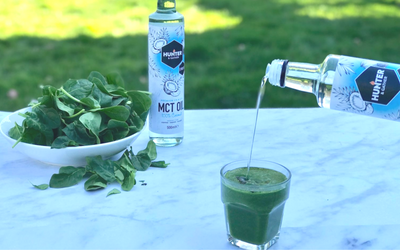 MCT Oil Green Smoothie Boost